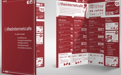 @theinternetcafe – InDesign Template Free