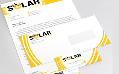 Stationary Templates InDesign Free CS4+